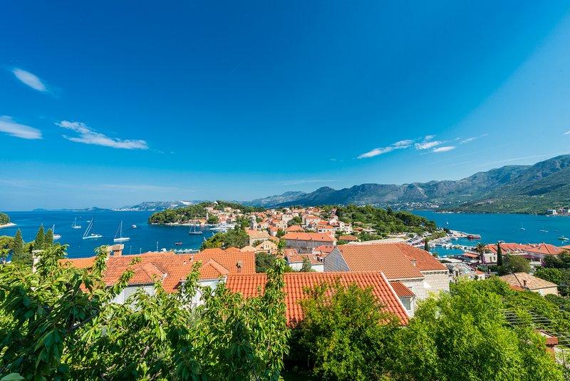 Villa Nona APT 1 - 6 pax, 140 sqm, amazing sea view, alquiler vacacional en Konavle