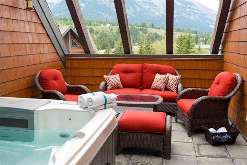 Relax on your private rooftop patio!