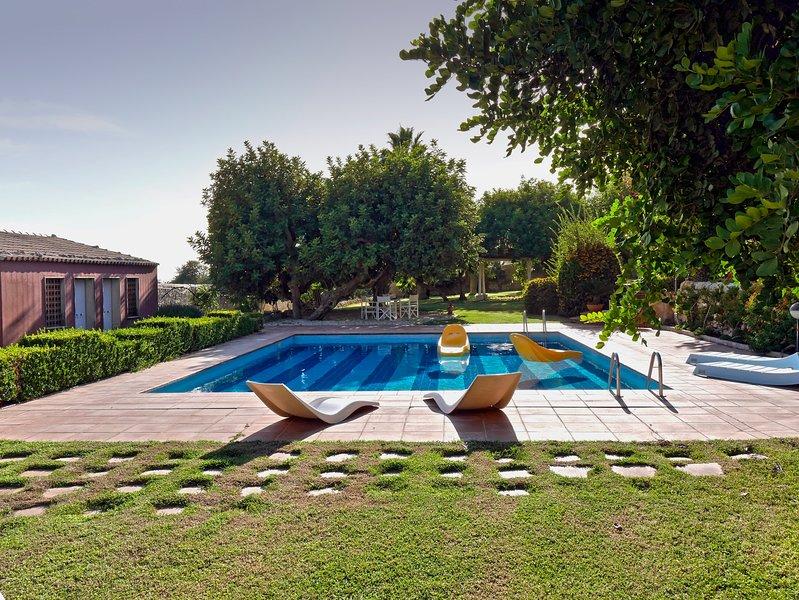 La Casetta Sicilian Cottage Villa con piscina