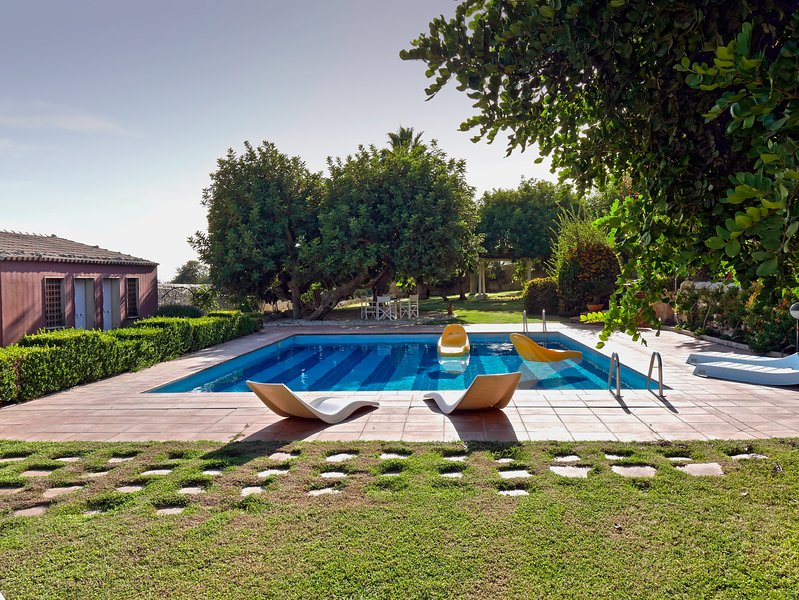 Sizilianische Landhausvilla La Casetta mit Pool