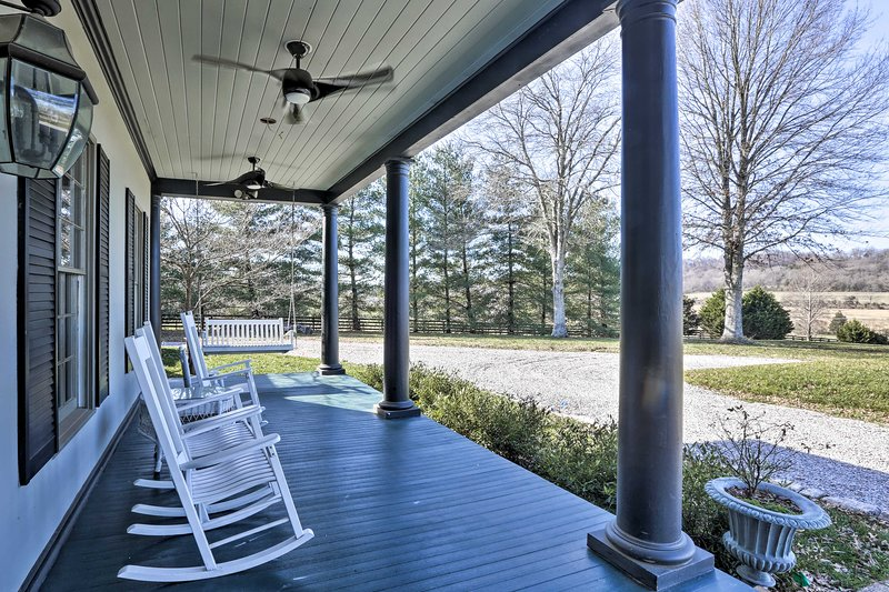 This beautiful home is perfect for a wedding reception or family reunion.