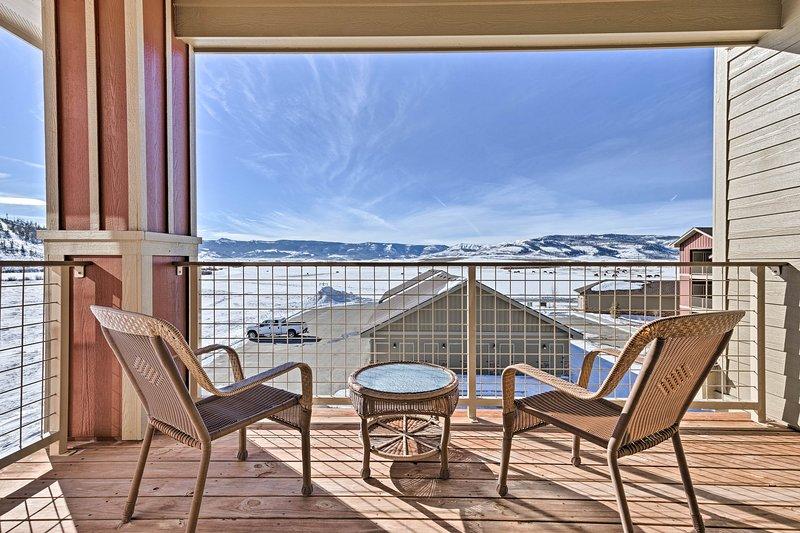 Denna 2-sovrum, 3-bad hem erbjuder 11 gäster en idealisk bergsstuga.
