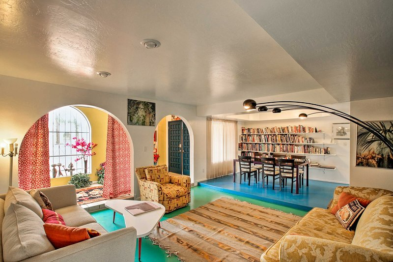 Descontraia nesta luxuosa casa de férias com 3 quartos e 2 casas de banho em Scottsdale.