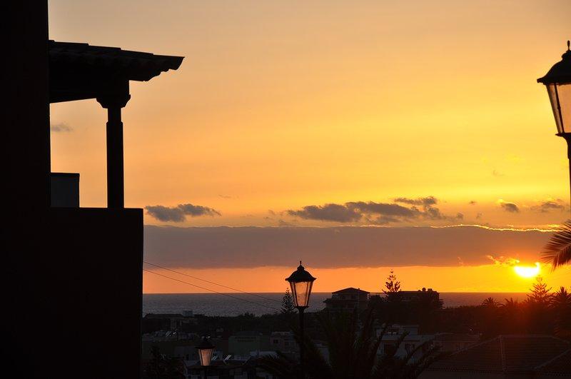 Clif views La Calera, holiday rental in Vueltas