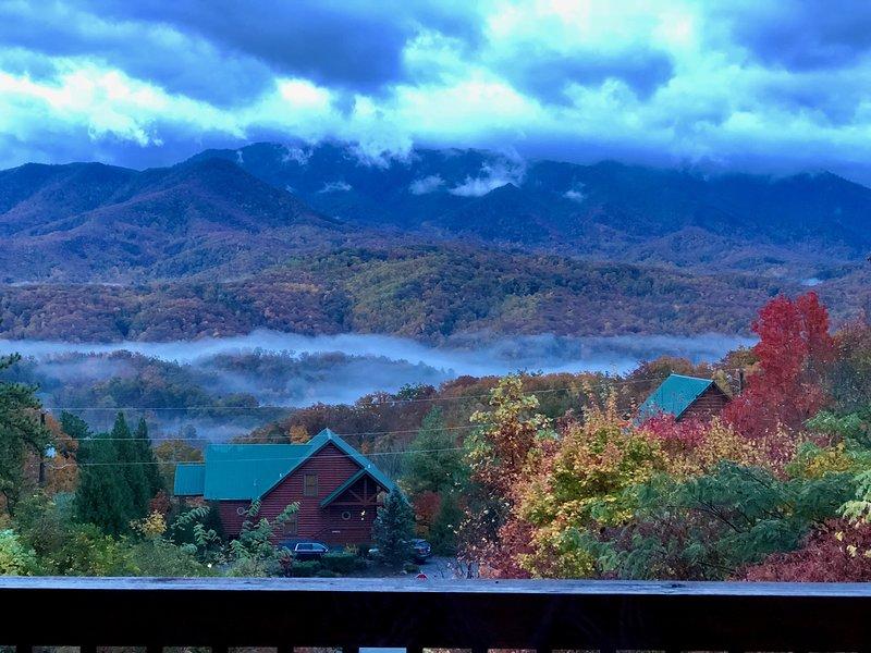 Year round panoramic views of the Smoky Mountains.
