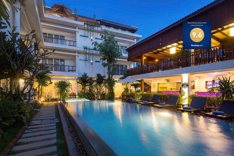 ADVAYA RESIDENCE - Residence suite with pool View - Free pick up, vacation rental in Siem Reap