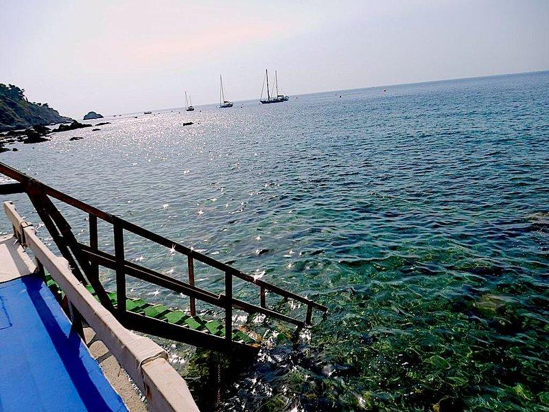 Taormina apartment with pool, sea & free parking, vacation rental in Villagonia