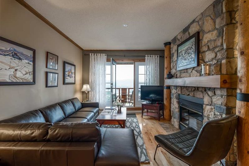 The Cozy Living Area is Stunning with the Inviting Furnishings