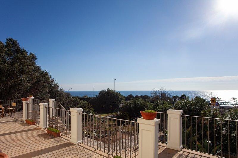 Villa vista Mare m300, holiday rental in Santa Cesarea Terme