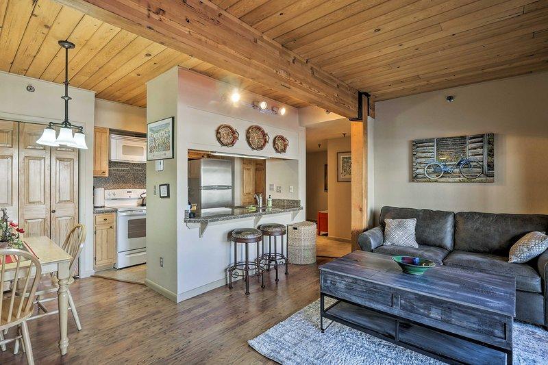 Retírese a la hermosa Crested Butte en este acogedor apartamento de vacaciones.