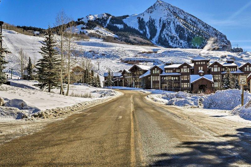 ¡Este condominio de Crested Butte es el lugar perfecto para la próxima escapada de tu pareja!