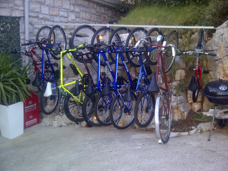 Mountain and other bikes - different sizes