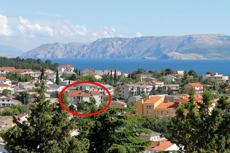 Two bedroom apartment Selce, Crikvenica (A-5496-b), alquiler vacacional en Selce