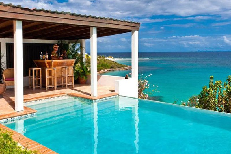 Zenaida Estate | Beach View - Located in Stunning Sandy Hill with Private Pool, vacation rental in Little Harbour