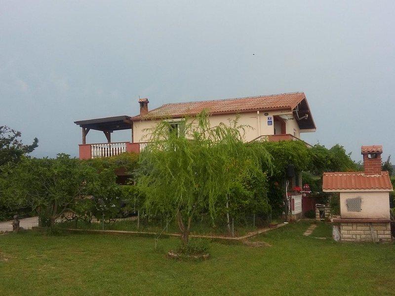 Two bedroom apartment Ljubač, Zadar (A-14148-a), alquiler vacacional en Razanac