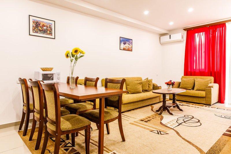 1 bedroom Apartment on Arami Street (New Buildig), holiday rental in Yerevan