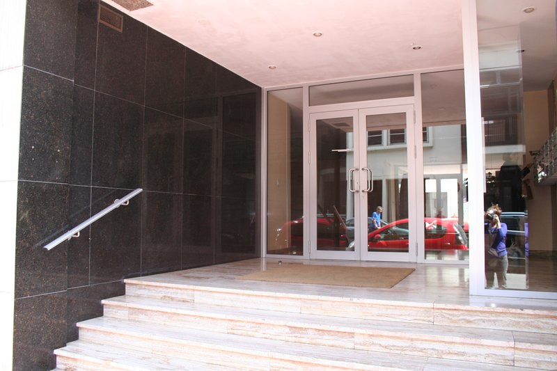 Entrance of the residence