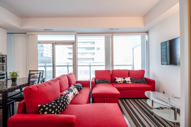 Plush residence downtown near Rogers center, alquiler de vacaciones en Toronto