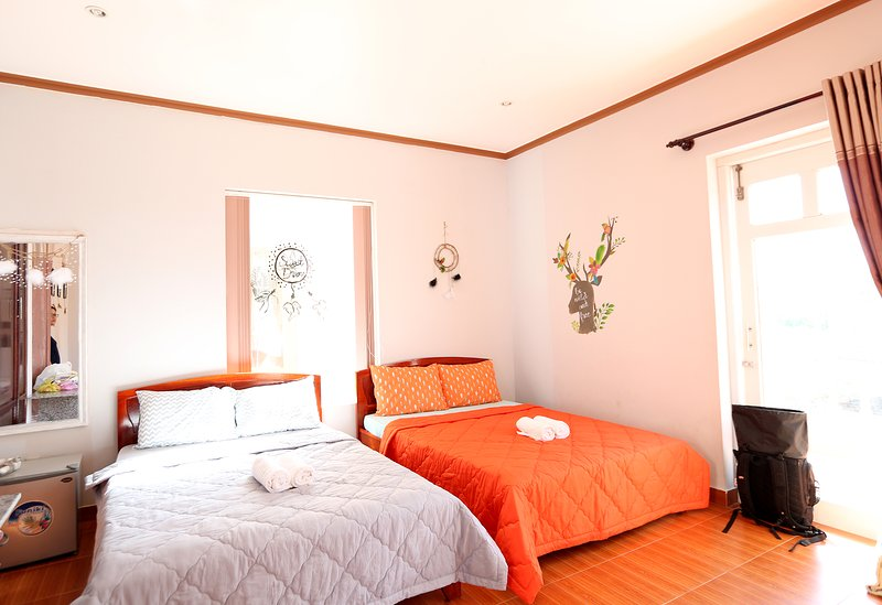 The Happy Ride 2 homestay - Boho Room, holiday rental in Phu Thuy