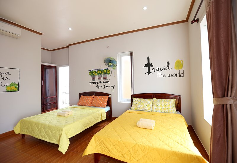 The Happy Ride 2 homestay - Travel Room, holiday rental in Phu Thuy