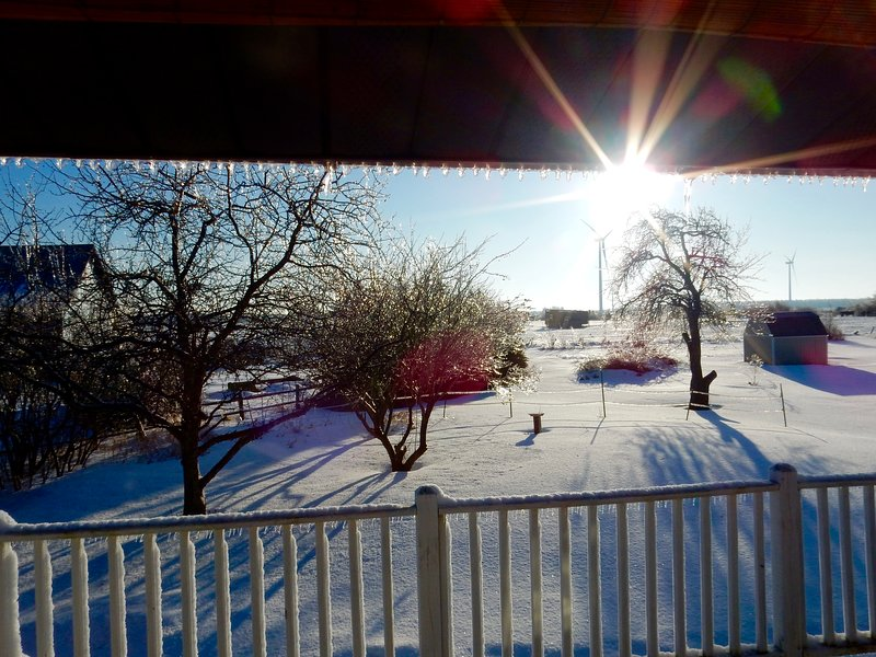 Open all year long - great snow sports location - cross-country ski, snowmobile, snowshoe
