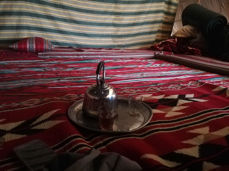 bedouin footsteps #1 tented camp, vacation rental in Hazeva