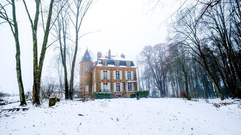 Prachtig Karaktervol Kasteel Perfect voor Groepen in de Ardennen, vacation rental in Le Chesne