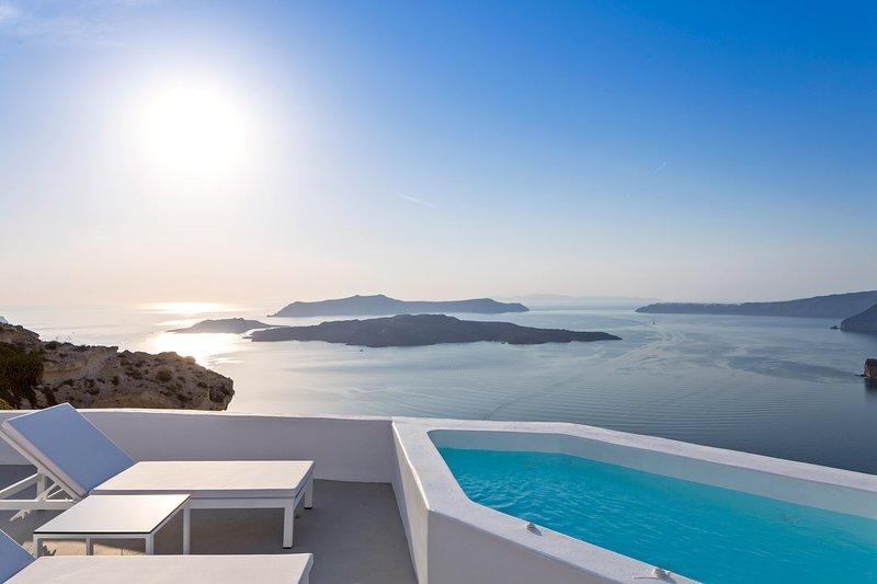 Alti Santorini Suites ( Junior Suite with Sea View), vakantiewoning in Athinios