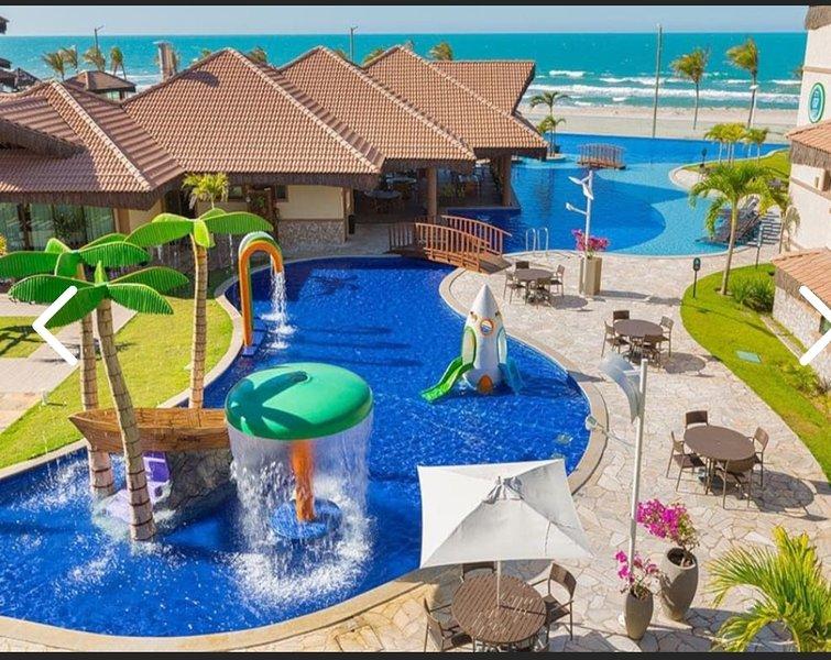 Resort Manhattan Riviera Beach - Fortaleza, casa vacanza a Fortaleza