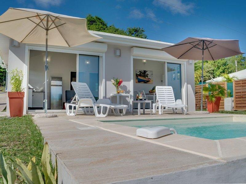 Les Terrasses du Cap, Villa Ti Baume et Villa Campèche, location de vacances à Le Marin