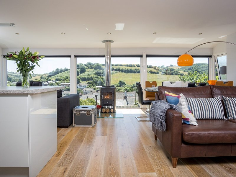 Contemporary style property with stunning views