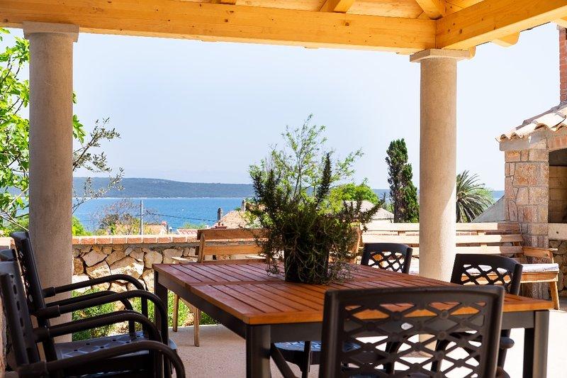 Mirna - apartment Mirna, alquiler de vacaciones en Nerezine
