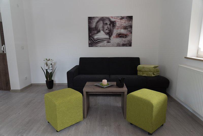 FrankenFeWo-Einstein bei Rothenburg ob der Tauber, holiday rental in Kirchberg an der Jagst