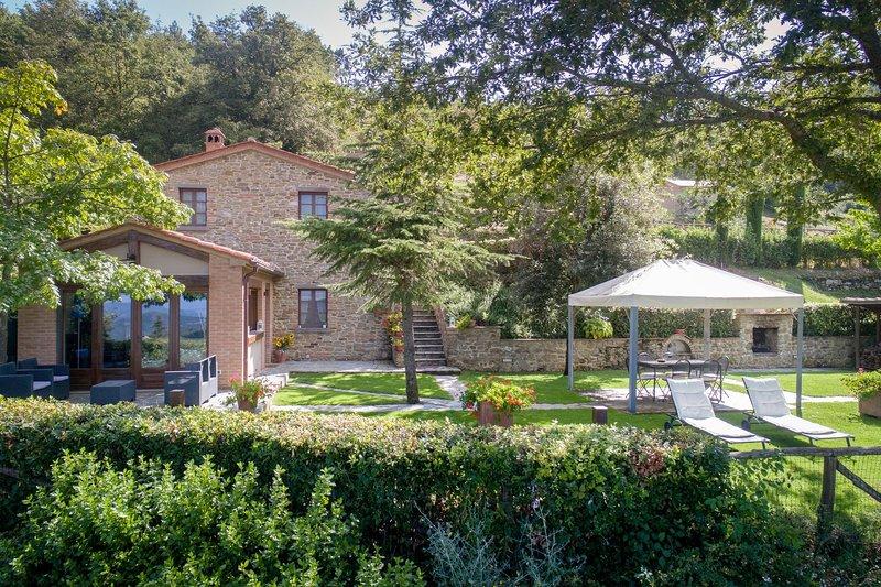 Villa Ginestra, holiday rental in Teverina