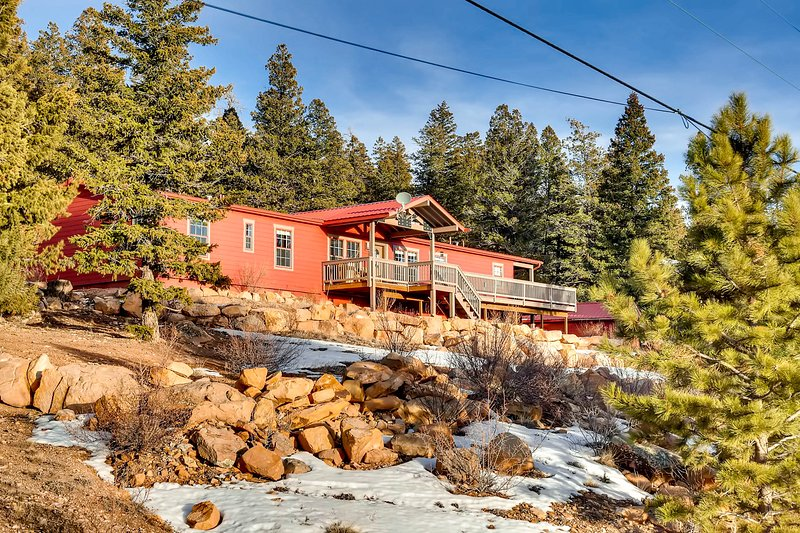 Red Mountain Ranch, vacation rental in Hartsel