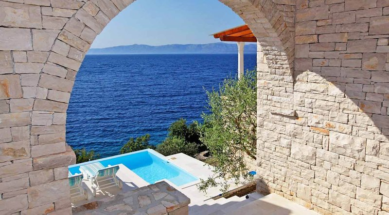 sea view and pool