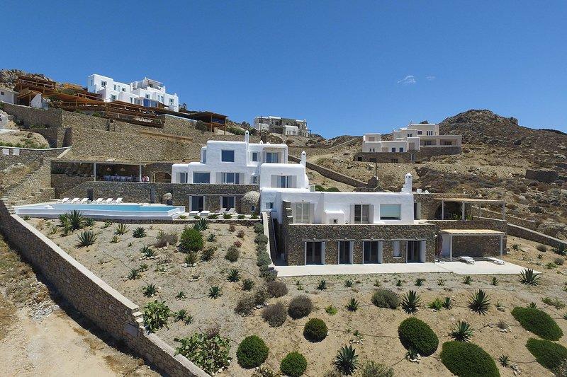 Villa Estella, holiday rental in Faros Armenistis