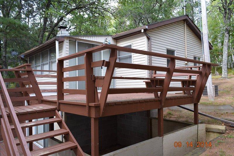 Cabin #2, alquiler de vacaciones en Barnes