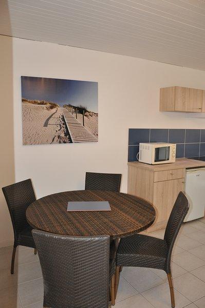 Appartement avec terrasse à côté de la plage, location de vacances à Mimizan