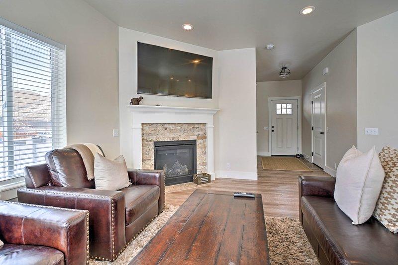 Limpia y cómoda, esta casa de campo te hará sentir como en casa.