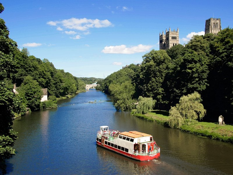 Take a visit to nearby Durham City for historic sights and riverside walks