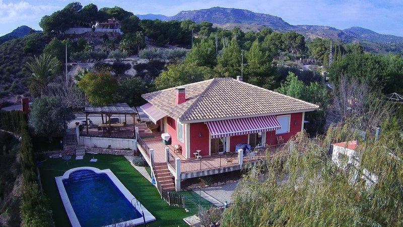 Chalet Aramillejos en Sierra Espuña (Totana), holiday rental in Lorca