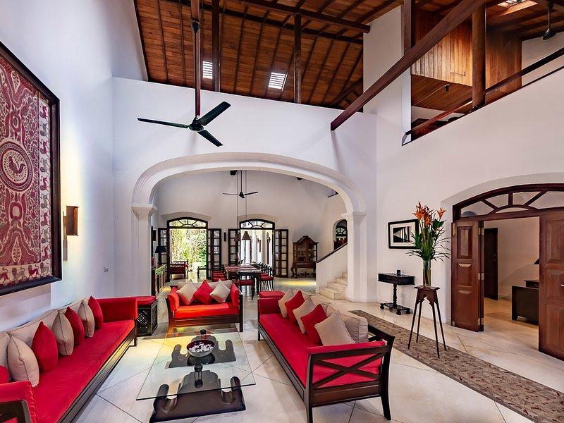 No.39 Galle Fort - Living area design