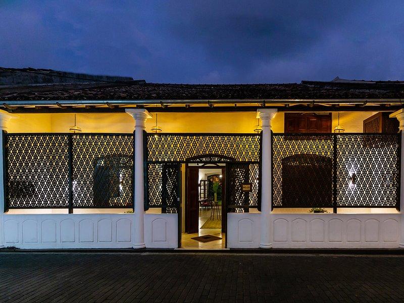 No.39 Galle Fort - Villa facade