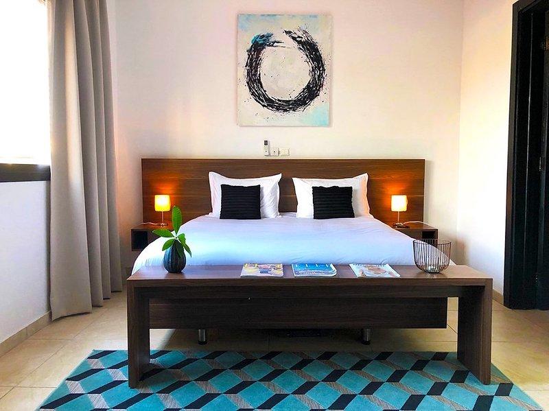 Abidjan - Villa Rok - Bedroom n°1, location de vacances à Grand Bassam