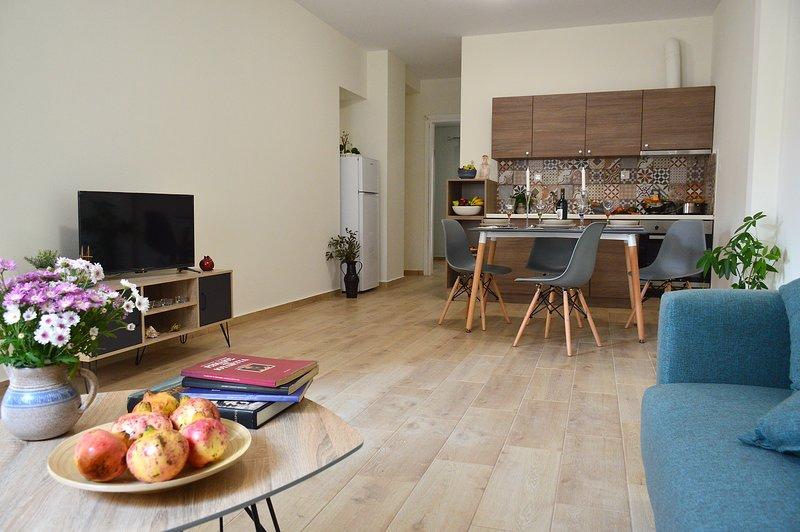 Romeo * Cozy and Tasteful 1 Bd Apartment, location de vacances à Tsikalaria