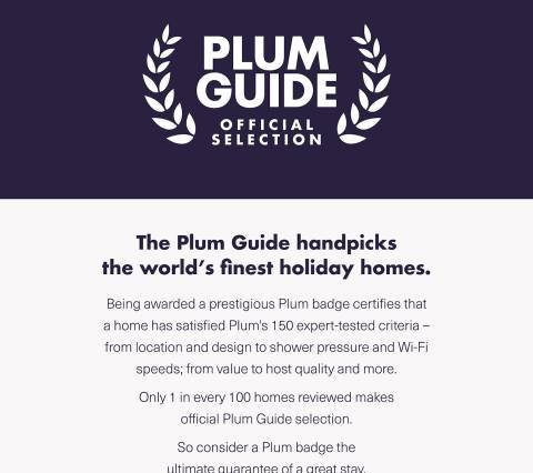 Plum Guide listed!