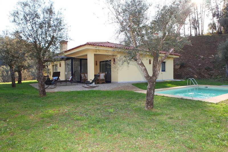 Prunus Grey Villa, Cabeceiras de Basto, Braga, holiday rental in Cerva