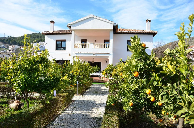 Big villa with swimming-pool & Wifi, holiday rental in Niguelas