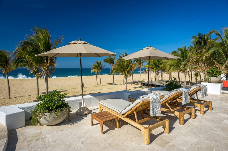 You'll always be steps away from the beach when you stay at Villa Pacifica, in the gated community of Pedregal